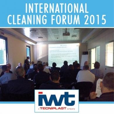 IWT INTERNATIONAL CLEANING FORUM 2015