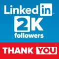 2000 FOLLOWERS SU LINKEDIN!